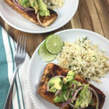 Seared Salmon With Avocado Salsa: Make This Now