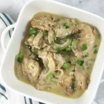 apple cider vinegar creamy chicken