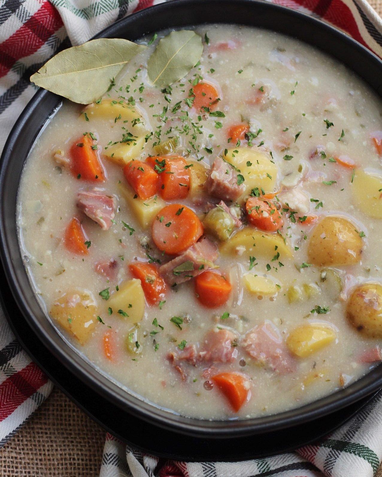 whole30 ham and potato soup
