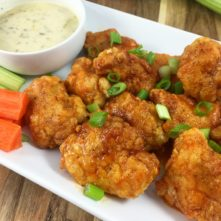 Whole30 Boneless Buffalo Wings: Paleo, Gluten Free