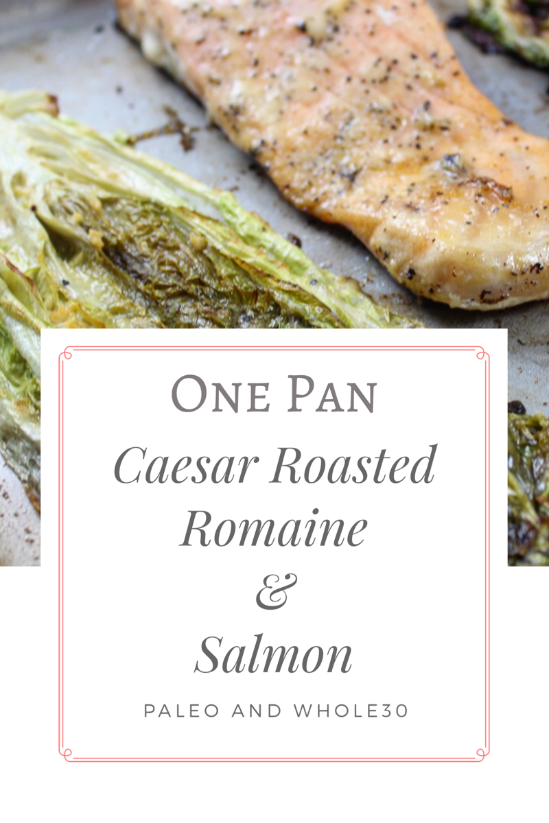 one pan caesar roasted salmon