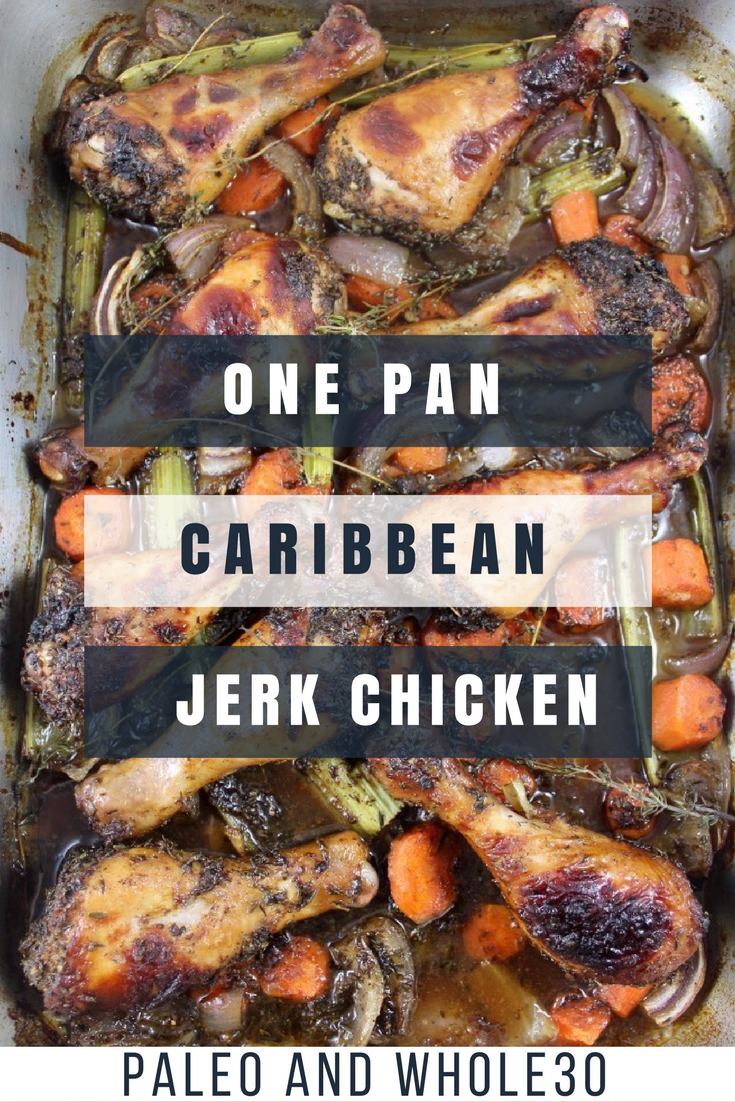 One pan jerk chicken