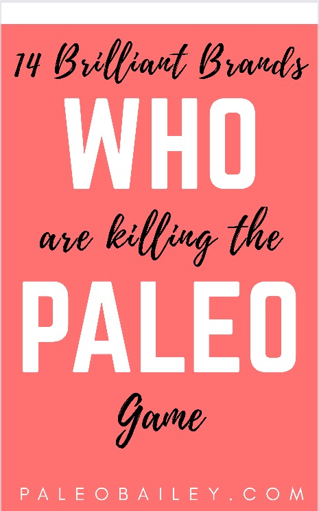 best paleo brands