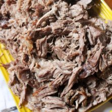 All-Purpose Slow Cooker Pulled Pork: Paleo and Whole30