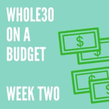 Budget Whole30 Week 2: How I Cut Food Costs During a Whole30