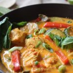 paleo and whole30 chicken and lemongrass coconut curry