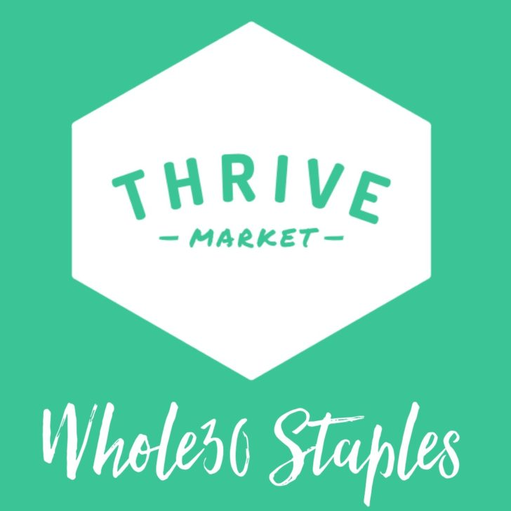 Thrive Market Whole30 Staples: My Whole30 Pantry