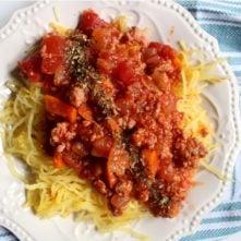 Whole30 Instant Pot Spaghetti Sauce