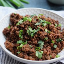 Whole30 Instant Pot Taco Meat: Meal Prepping Made Easy