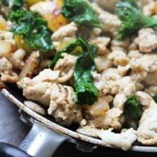 Chicken Breakfast Hash: Egg-Free, Whole30 Breakfast