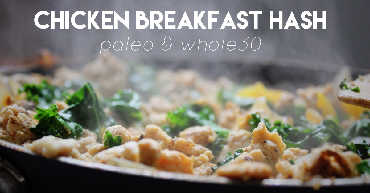 paleo chicken breakfast hash
