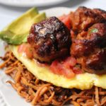 chorizo breakfast meatballs