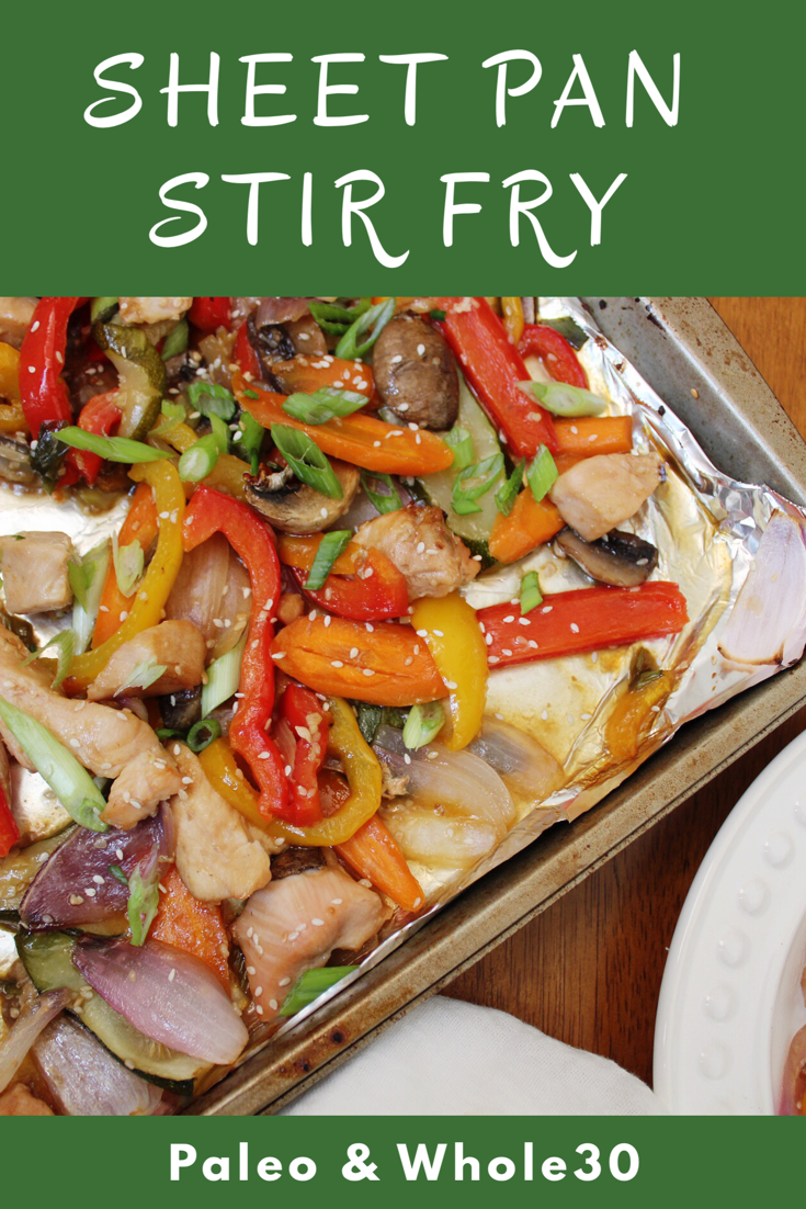 sheet pan stir fry