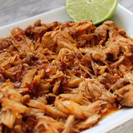 Mexican Instant Pot Shredded Chicken (Whole30 & Slow Cooker Instructions)