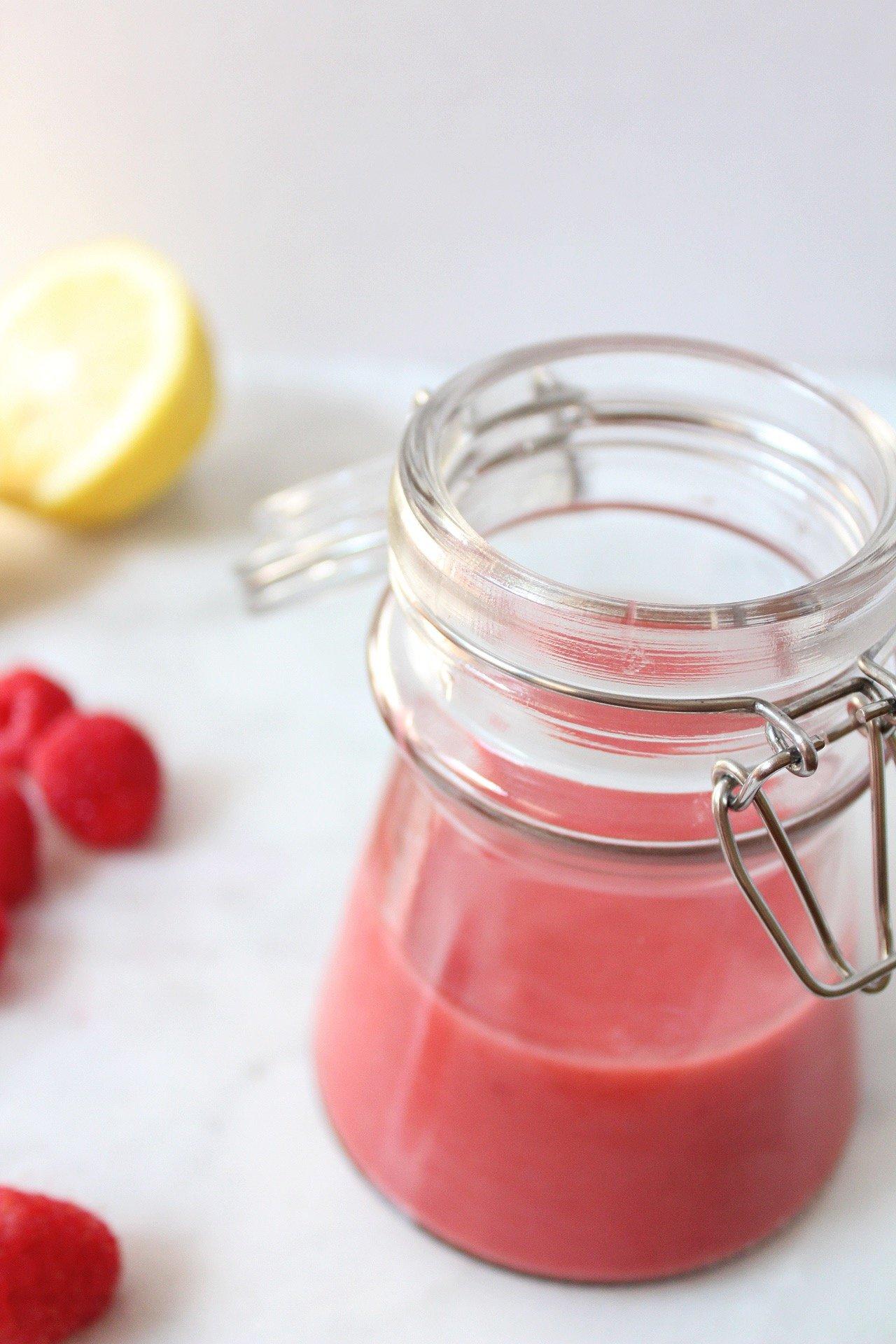 raspberry lemon dressing