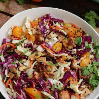 sesame chicken chopped salad