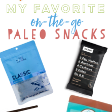 On-The-Go Paleo Snacks: My Top 15 Favorites
