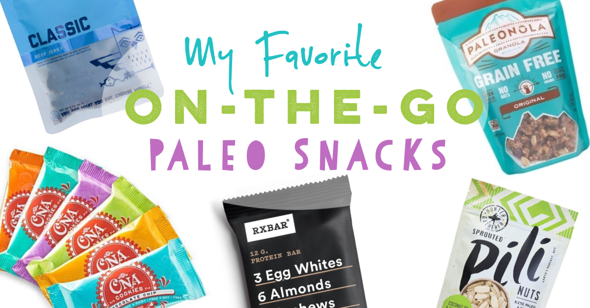 on the go paleo snacks