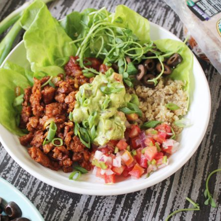 Chorizo Burrito Bowls: Easy, Throw Together Paleo, Whole30 or Low Carb Lunch