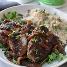 Easy Salisbury Steak: A Real Food Version You'll Love