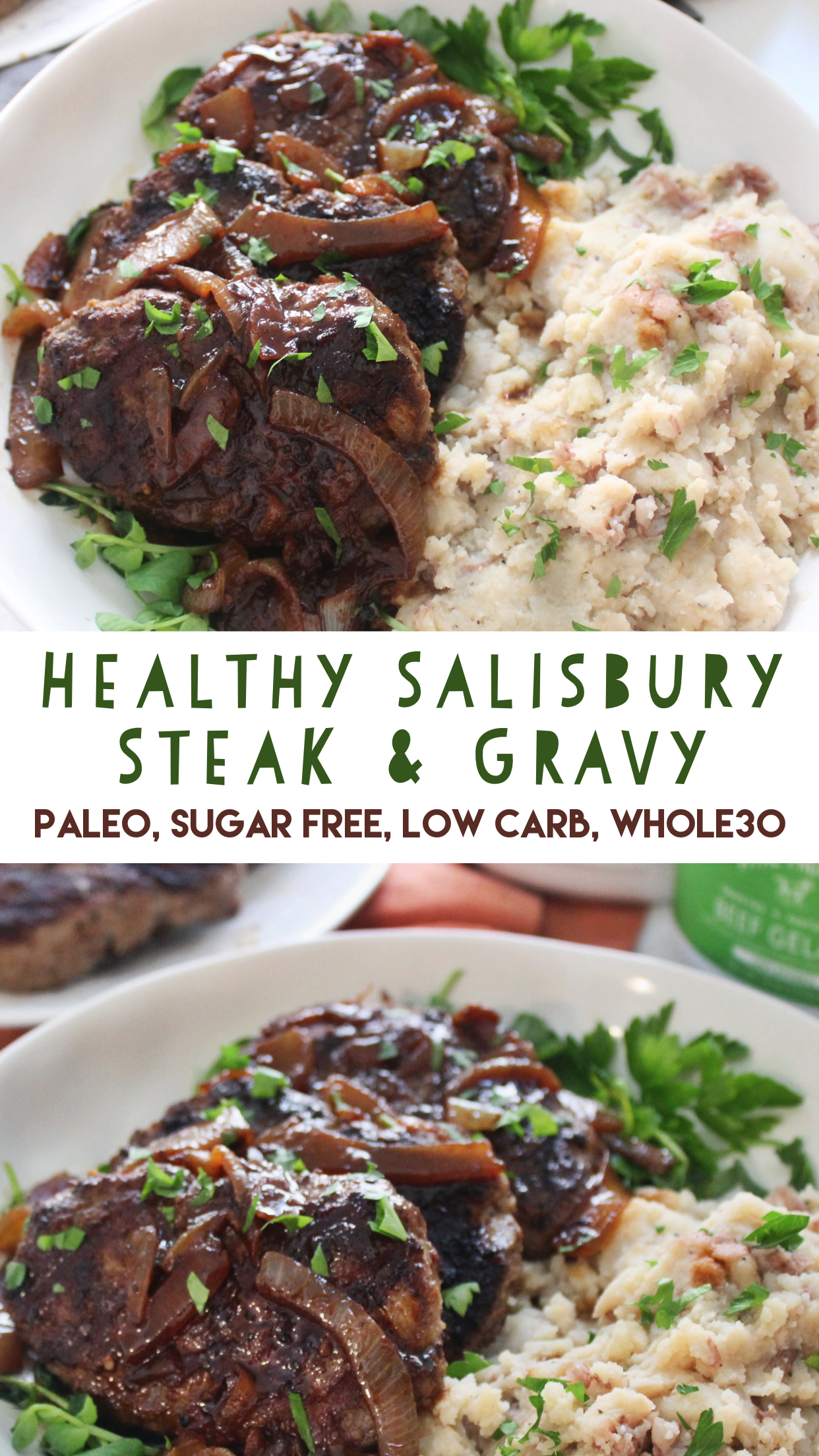 healthy Salisbury steak