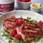 berry glazed grilled chicken