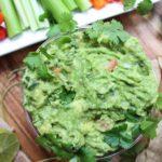 citrus kale guacamole