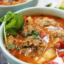 "Mexican Albondigas ""Meatball"" Soup"