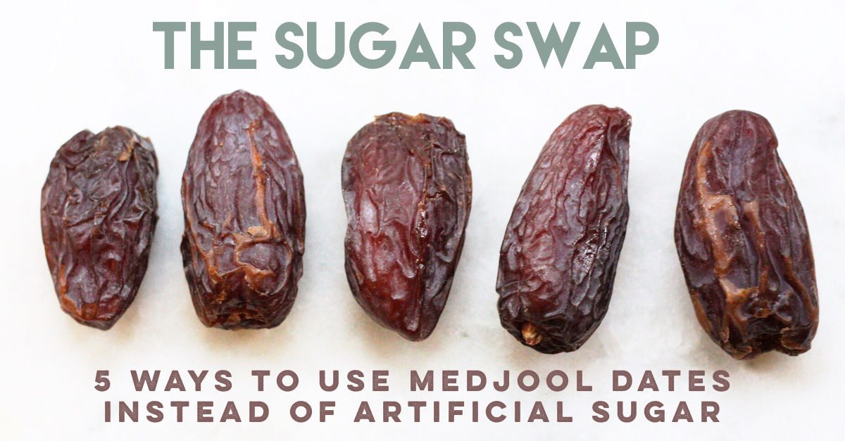 ways to use dates instead of sugar