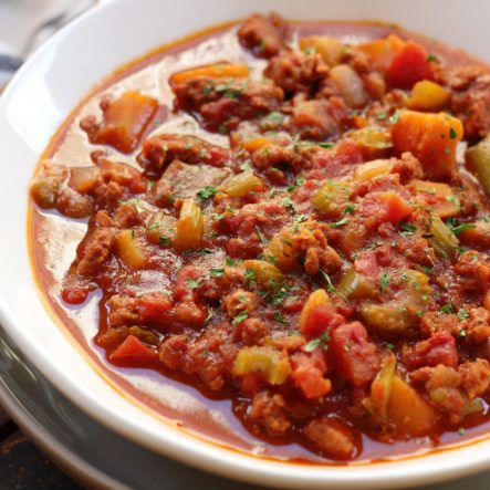 Chorizo and Butternut Squash Chili: A Hearty and Healthy Dinner!