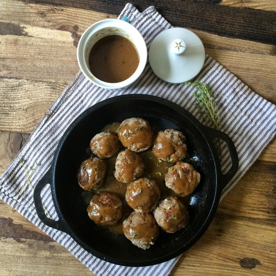 Belgium meatballs
