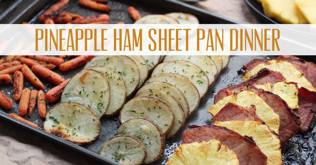 pineapple ham whole30 sheet pan dinner
