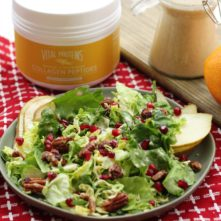 Orange Vanilla Vinaigrette (VIDEO): Paleo, Whole30 + Collagen!