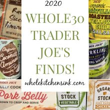 Whole30 Trader Joe's Finds: 2020 Shopping List