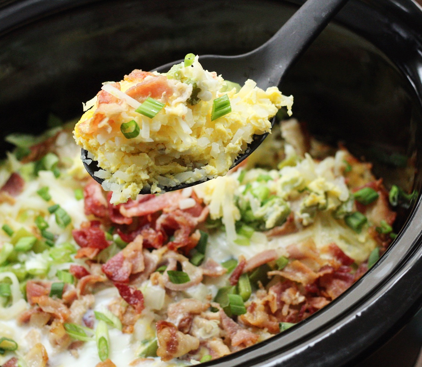 whole30 slow cooker egg bake