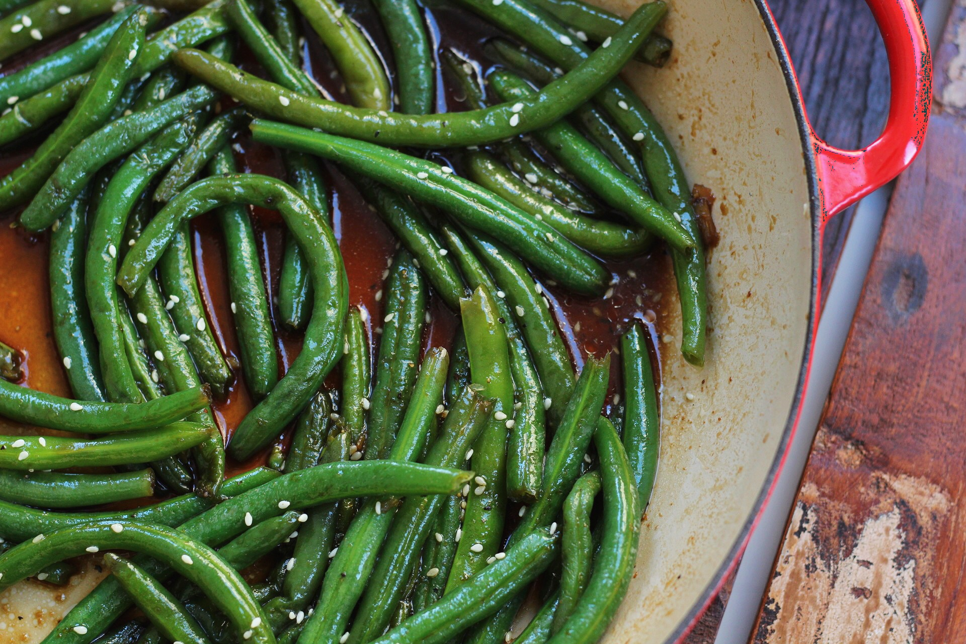 Asian Green Beans A Paleo And Whole30 Veggie You Ll Love Whole Kitchen Sink