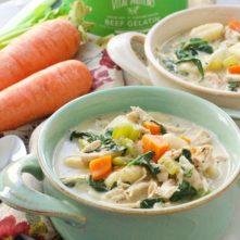 Chicken Gnocchi Soup: Paleo & Easy! + Recipe Video!