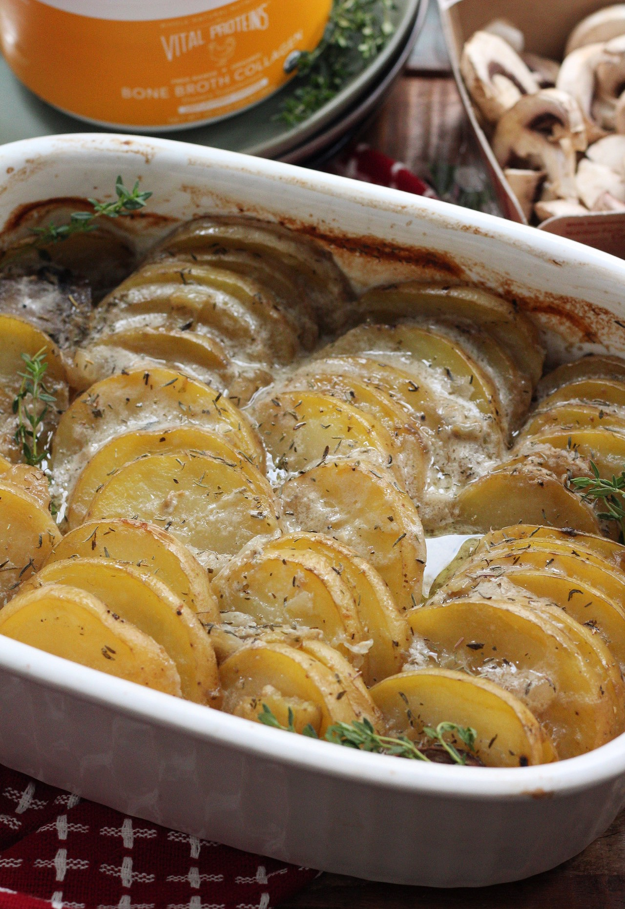 paleo scalloped potatoes