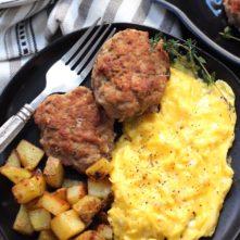 Whole30 Homemade Breakfast Sausage: Paleo & Freezer Friendly!