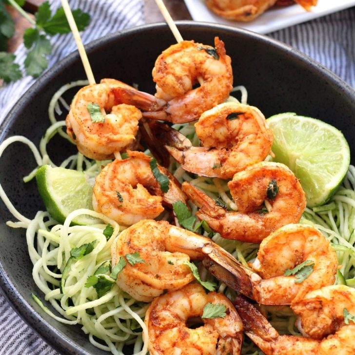 15 Minute Chili Lime Shrimp: Paleo, Whole30, Low Carb