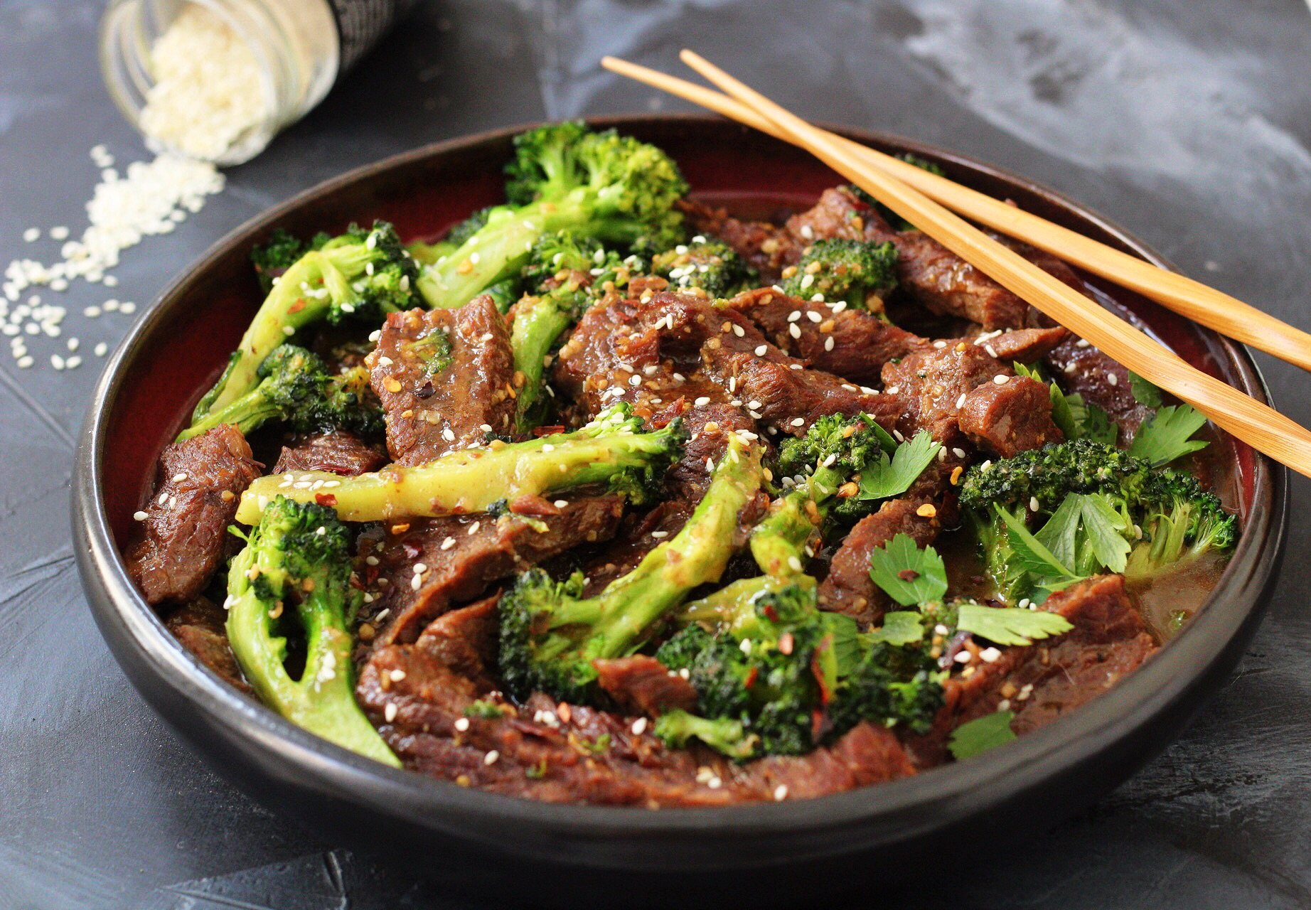 whole30 instant pot beef and broccoli