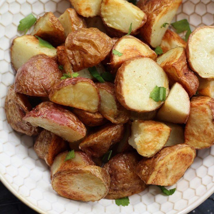 Whole30 Air Fryer Crispy Potatoes: Paleo & 20 Minutes!