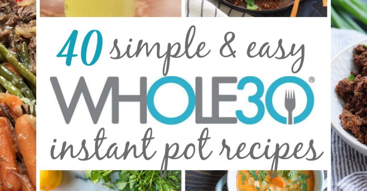 whole30 instant pot
