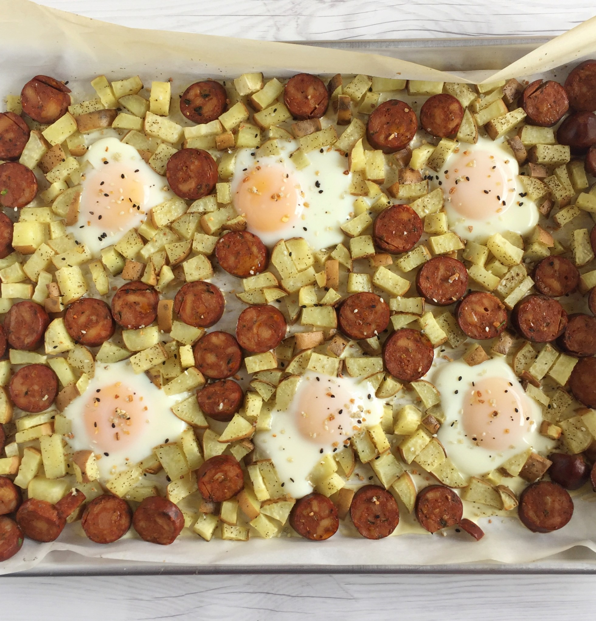 whole30 sheet pan breakfast
