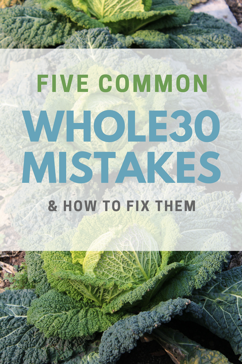 common whole30 mistakes