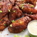 whole30 air fried bbq wings