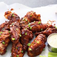 Air Fried BBQ Wings: Whole30, Paleo, Low-Carb!