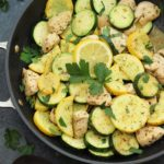 whole30 lemon chicken squash