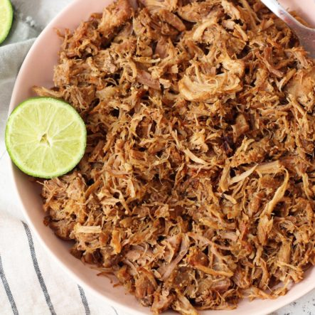 Paleo Instant Pot Carnitas (Whole30, Gluten-Free) with Slow Cooker Instructions
