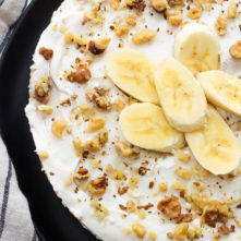 Paleo Banana Cream Pie: Easy, No Bake & Vegan Dessert